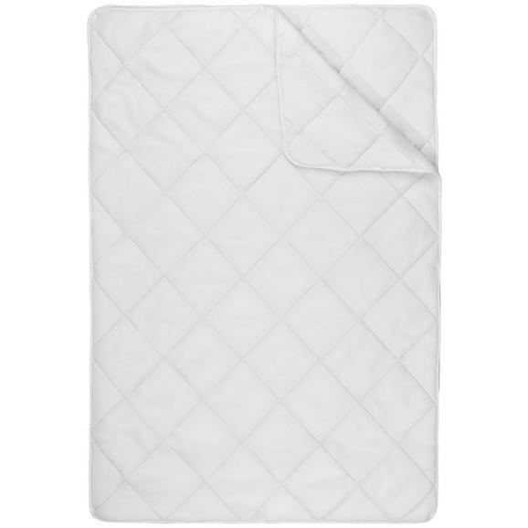 Steppdecke 4 Jahreszeiten ca. 140x200cm - Weiß, Textil (140/200cm) - Mömax modern living