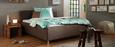 Oblazinjena Postelja Glenn - antracit, Konvencionalno, umetna masa/tekstil (180/200cm) - Premium Living