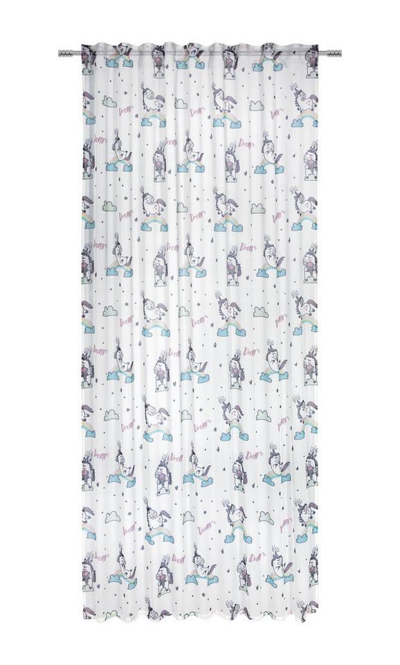 Končana Zavesa Dream - večbarvno, Romantika, tekstil (140/245cm) - Mömax modern living
