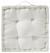 Boxkissen Weiß - Weiß, Textil (40/40/9cm) - Mömax modern living
