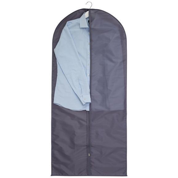 Kleidersack in Grau - Grau, Textil (60/135cm) - Mömax modern living