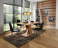 Jedilna Miza Severin 138 - hrast, Moderno, leseni material (138/76/90cm) - Mömax modern living