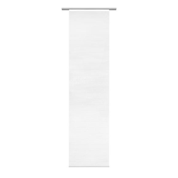 Flächenvorhang Loft Weiß 60x245cm - Weiß, MODERN, Textil (60/245cm) - Mömax modern living