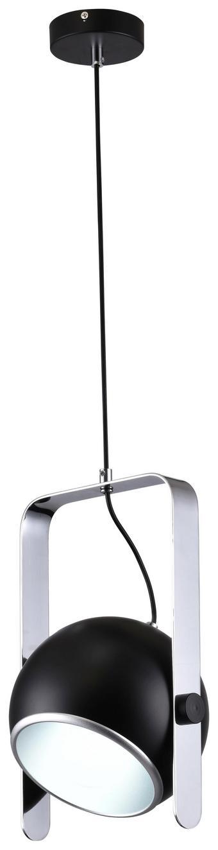 Viseča Svetilka 18167 - črna/siva, kovina (23/35cm)