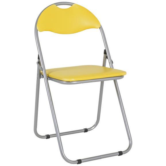 Zložljiv Stol Shake - rumena, Moderno, kovina/umetna masa (44/80/47cm) - Mömax modern living
