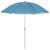 Sonnenschirm Lecci in Blau - Blau/Grau, Kunststoff/Textil (180/190cm) - Mömax modern living