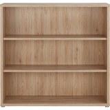 Regal Eichefarben - Eichefarben, MODERN, Holzwerkstoff/Kunststoff (120/116/40cm)