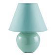 Namizna Svetilka Irma - meta zelena, Romantika, tekstil/keramika (18/25cm) - Mömax modern living