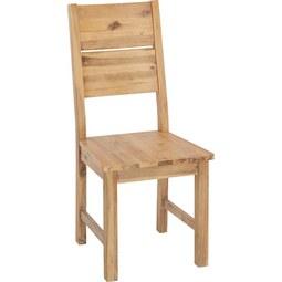 Stuhl aus Akazie Massiv - Akaziefarben, KONVENTIONELL, Holz (46/100/55cm) - Zandiara