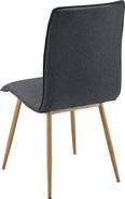 Stuhl Milena - Dunkelgrau, MODERN, Holz/Textil (45/91/56,5cm) - Mömax modern living