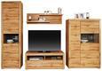 Stenska Polica Tizio - hrast, Moderno, leseni material (125/35/25cm) - Zandiara