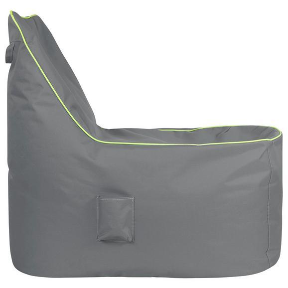 Vreča Za Sedenje Cortona - modra/siva, Moderno, tekstil (100/90/70cm) - Mömax modern living