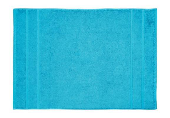 Badematte Melanie ca. 50x70cm - Petrol, Textil (50/70cm) - MÖMAX modern living