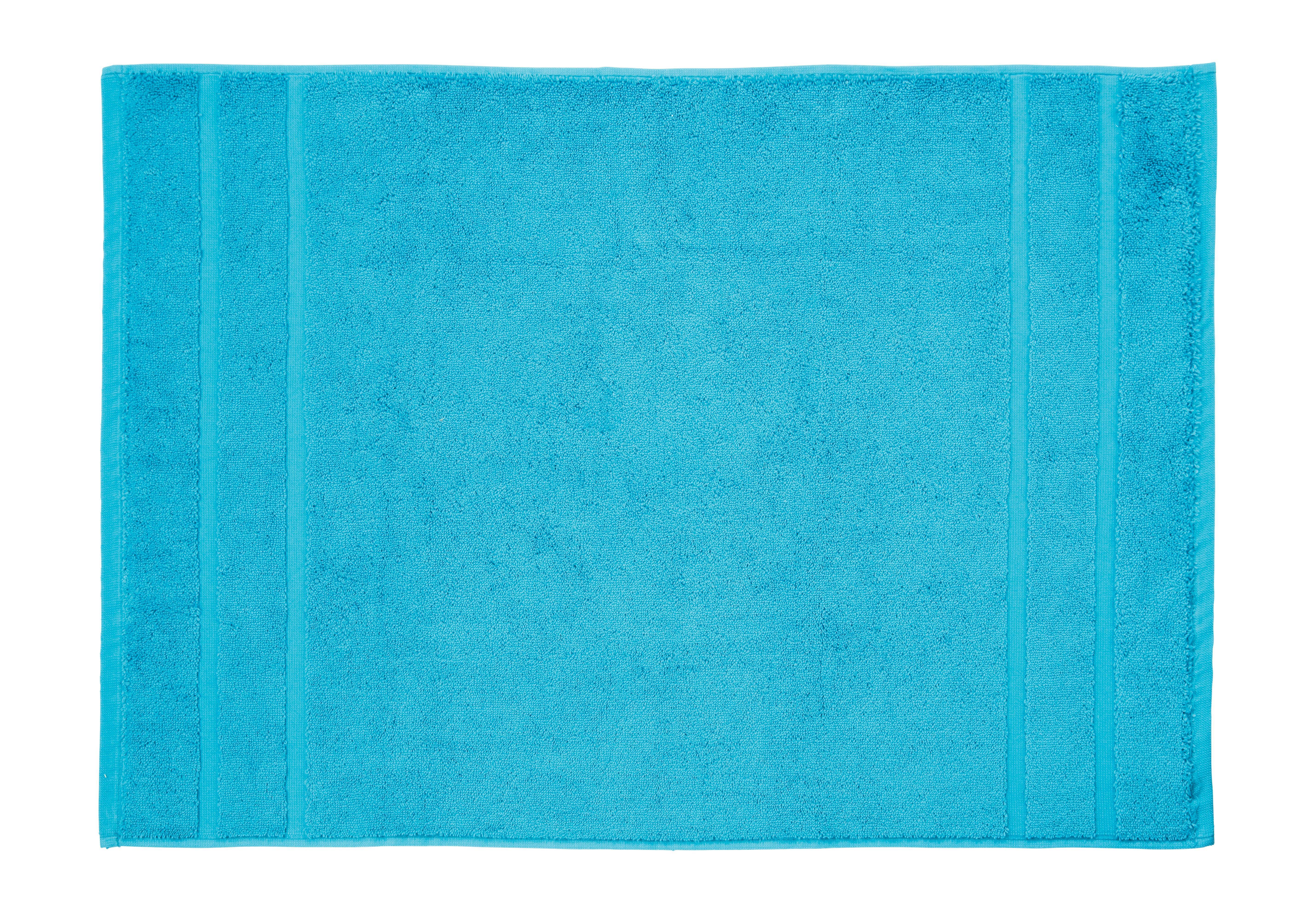 Fürdőszobaszőnyeg Melanie - petrol, textil (50/70cm) - MÖMAX modern living