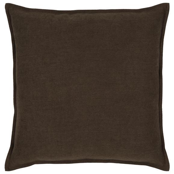 Zierkissen Poppy in Stein ca. 45x45cm - Braun, MODERN, Textil (45/45cm) - Mömax modern living