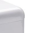 Echtwerk Brotbox Retro mit Sichtfenster - Weiß, MODERN, Metall (42,5/23,8/17cm) - Echtwerk