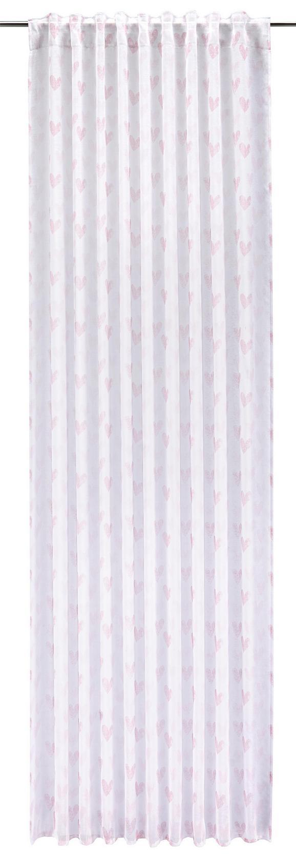 Končana Zavesa Lovely -ext- - roza, Romantika, tekstil (140/245cm) - Mömax modern living