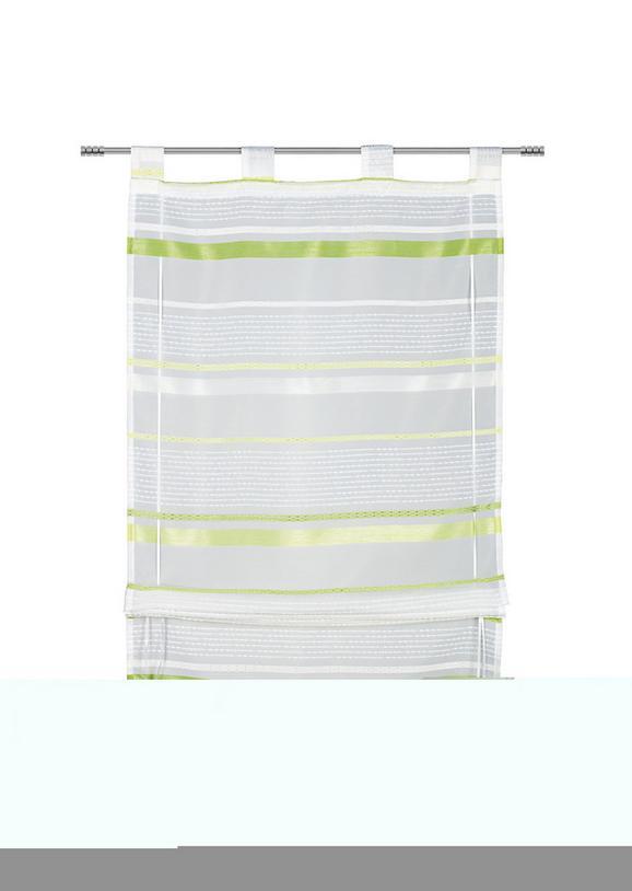 Bändchenrollo Adele, ca. 100x140cm - Grün, KONVENTIONELL, Textil (100/140cm) - MÖMAX modern living