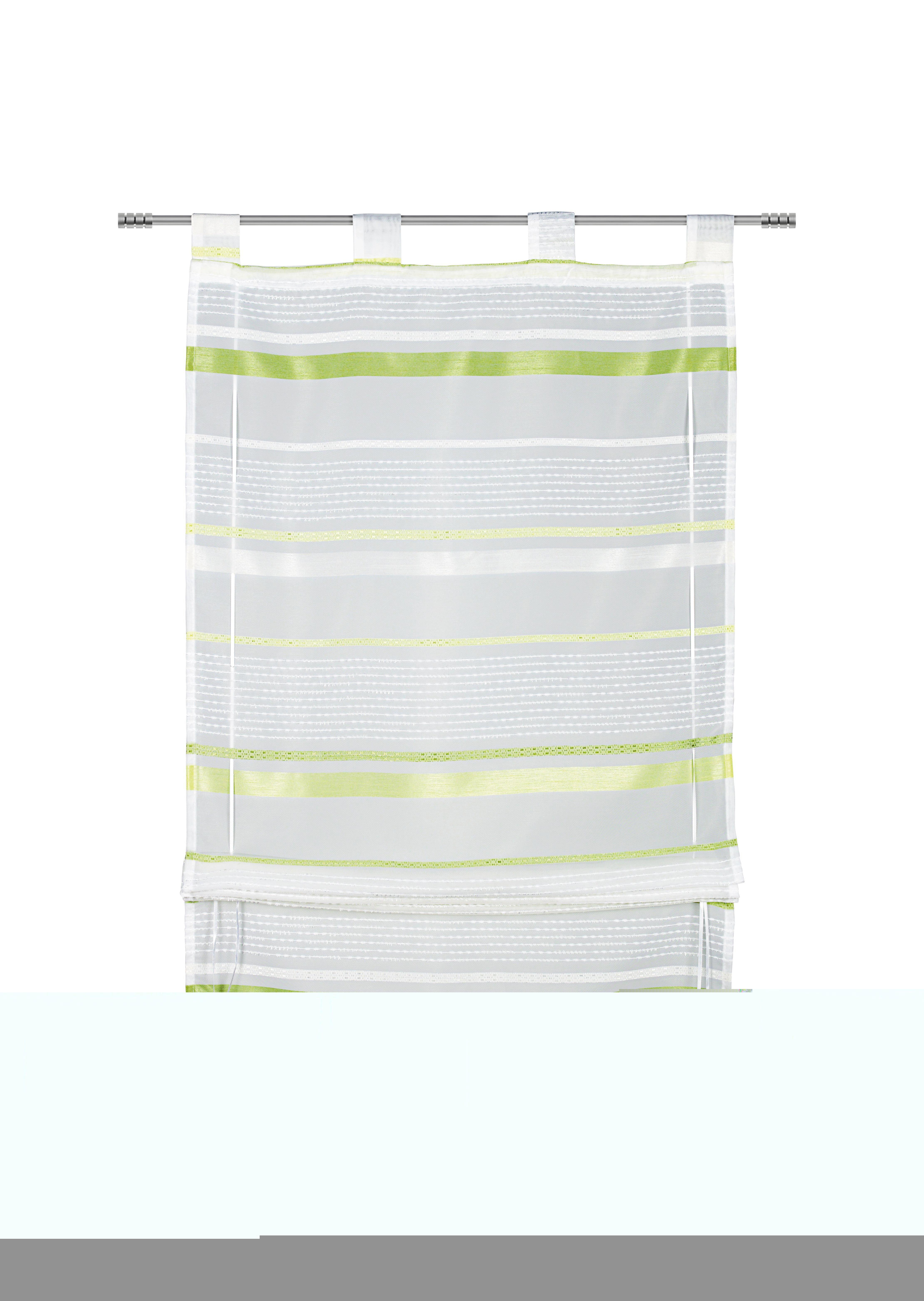 Szövetroló Adele - zöld, konvencionális, textil (100/140cm) - MÖMAX modern living