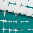 Ágyneműhuzat Batik Wende - Olajkék/Zöld, Textil (140/200cm) - Mömax modern living
