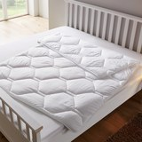 Sommerbettdecke Irisette leicht ca.135x200cm - Weiß, KONVENTIONELL, Textil (135 x 200cm) - Irisette