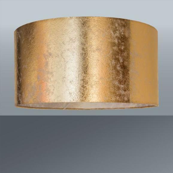 Leuchtenschirm Goldi max. 60 Watt - Goldfarben, LIFESTYLE, Textil/Metall (40/20cm) - Mömax modern living