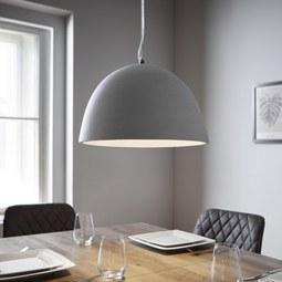 Hängeleuchte Dunja - Grau, MODERN (35/120/35cm) - Modern Living