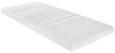 Topper Aus Gelschaum ca. 80x200cm - Weiß, Textil (80/200cm)