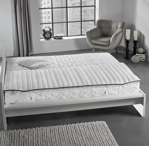 Topper Irisette Sylt 90x200cm - Weiß, KONVENTIONELL, Textil (90 x 200cm) - IRISETTE
