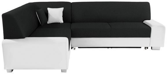 Funkcijska Sedežna Ganritura Miami - črna/bela, Moderno, umetna masa/tekstil (210/260cm) - MÖMAX modern living