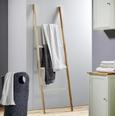 Handtuchhalter Jule - Buchefarben/Weiß, MODERN, Holz (51/170,5/33cm) - Modern Living