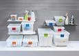 Box mit Deckel Mathias, ca. 41x33x22cm - Transparent, KONVENTIONELL, Kunststoff (41/33/22cm) - Mömax modern living