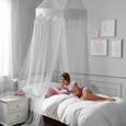 Himmel Kathi Weiß - Weiß, ROMANTIK / LANDHAUS, Textil (60/250/1000cm) - Mömax modern living