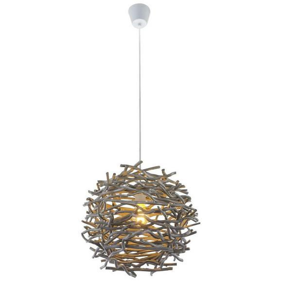 Svjetiljka Viseća Tilda - siva, Lifestyle, drvo/plastika (42/147cm) - Mömax modern living
