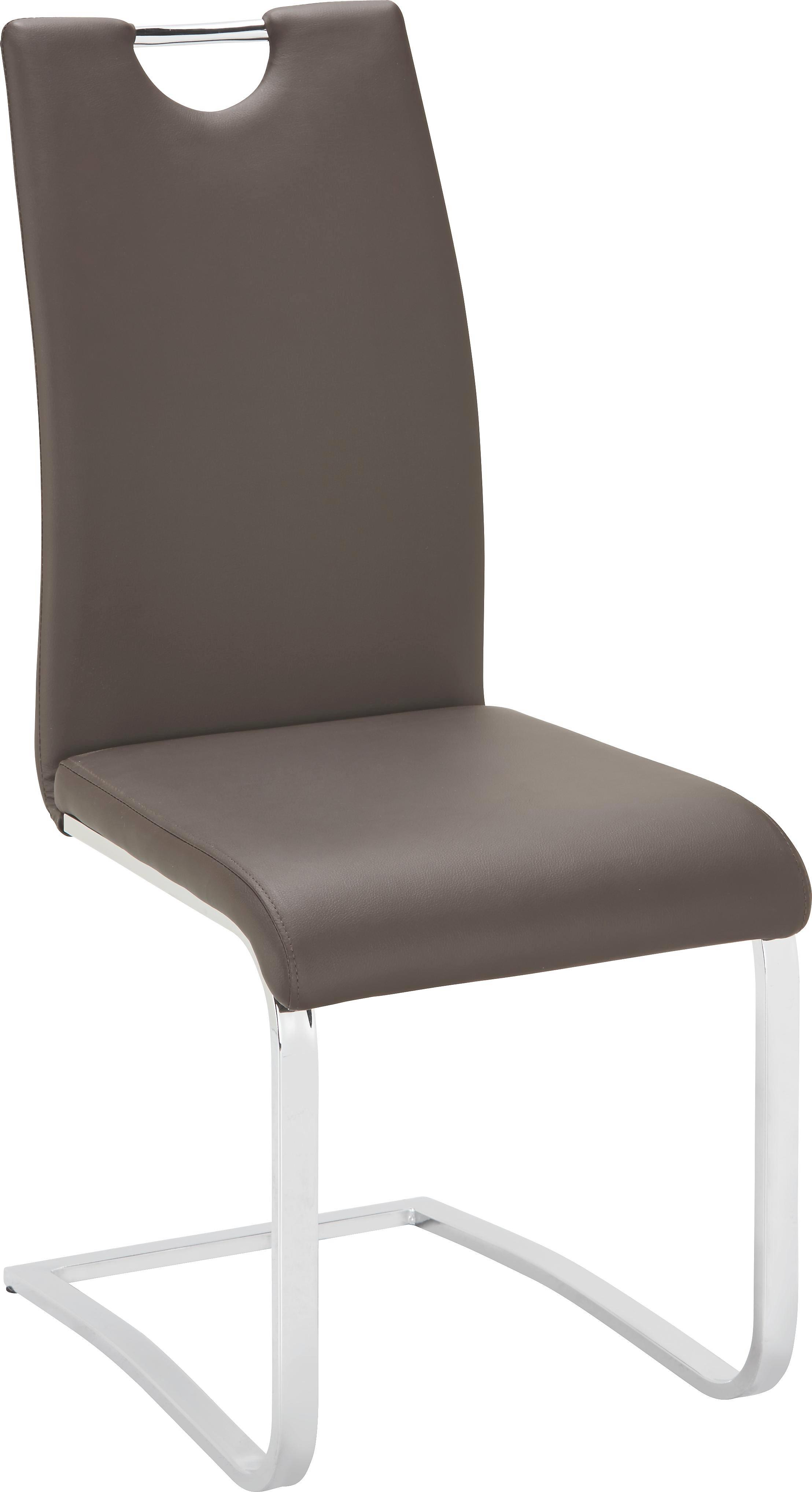 Étkezőszék Madrid - barna, modern, műanyag/textil (43/99,5/57,5cm) - MÖMAX modern living