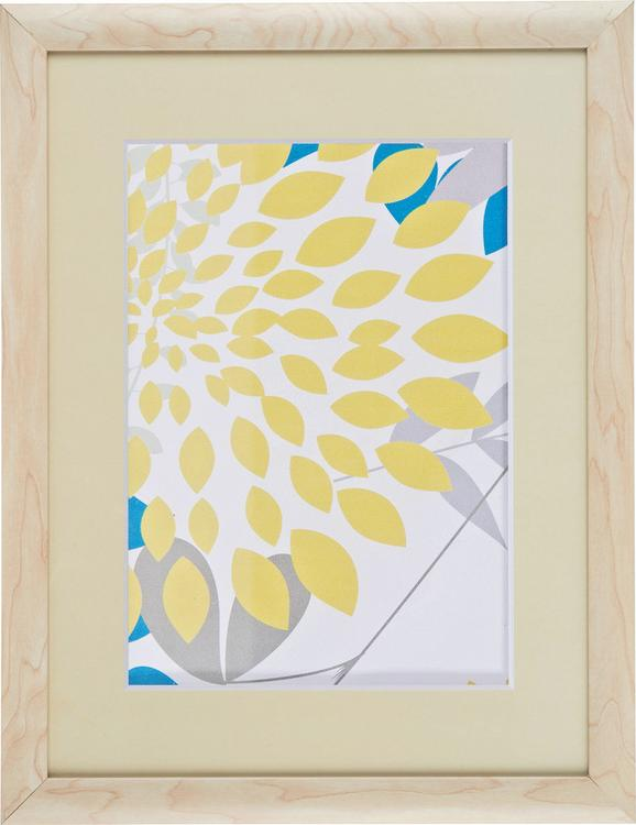 Bilderrahmen Anna, ca. 30x40cm aus Holz - Naturfarben, ROMANTIK / LANDHAUS, Glas/Holz (30/40cm) - Mömax modern living