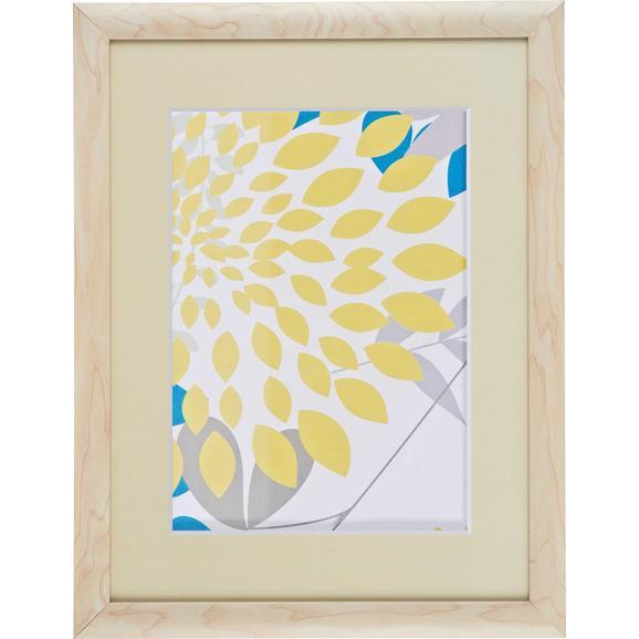 Bilderrahmen Anna, ca. 30x40cm aus Holz - Naturfarben, ROMANTIK / LANDHAUS, Glas/Holz (30/40/1,6cm) - Mömax modern living