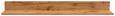 Stenska Polica Kashmir New - hrast, Moderno, leseni material (155/20/20cm) - Zandiara