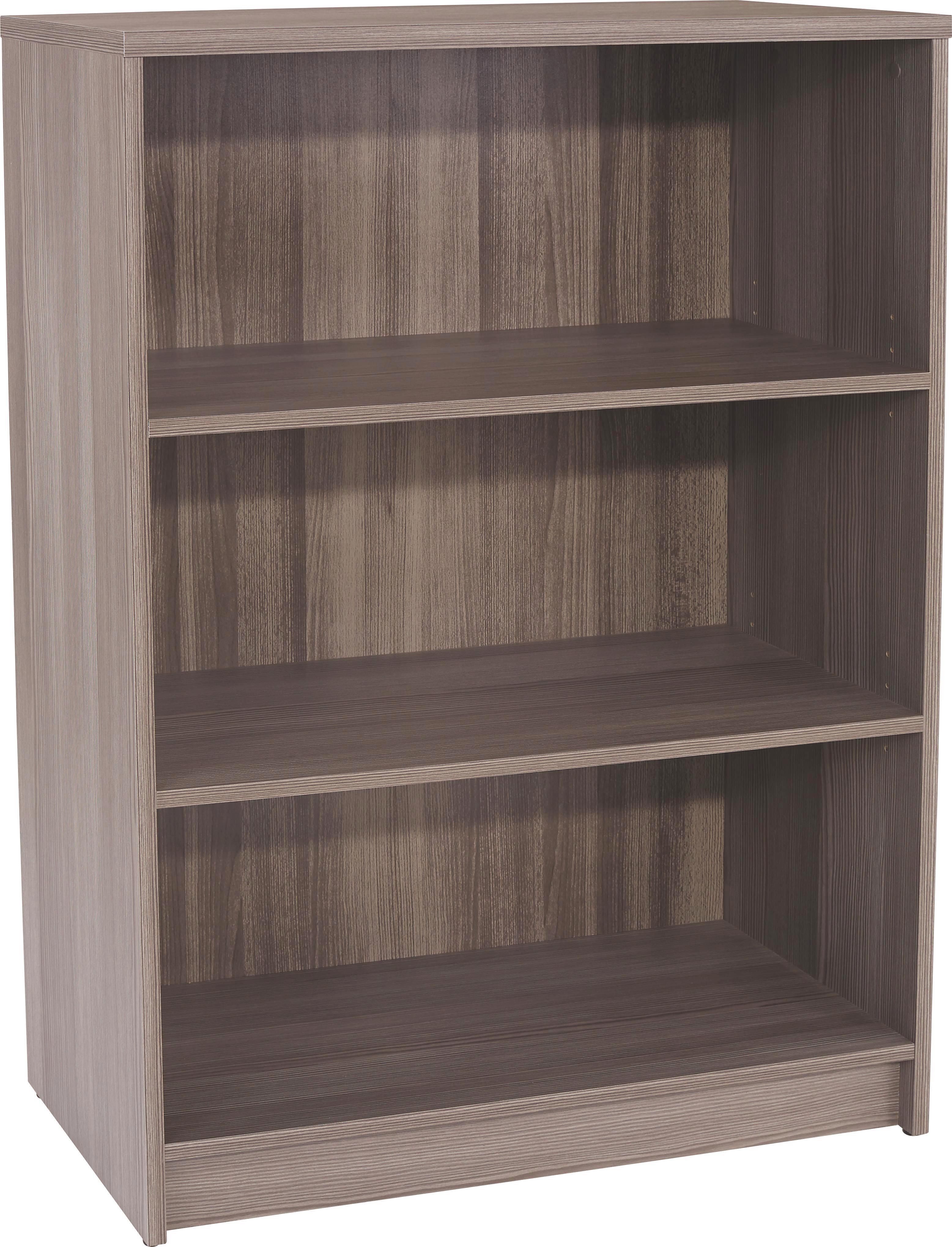 Regal 4-you Yur02 - temno rjava, leseni material (74/111,4/34,6cm)