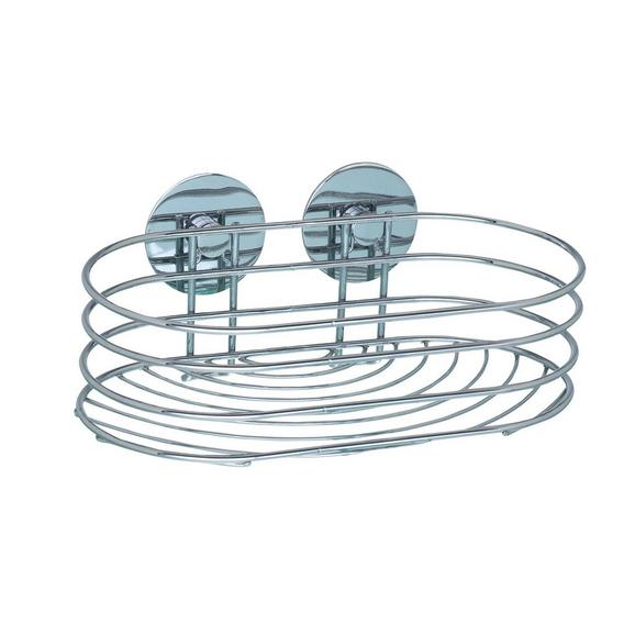 Duschregal aus Stahl - MODERN, Metall (23,5/10,5/13,5cm) - Mömax modern living