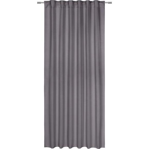 Draperie Opacă Riccardo - antracit, Modern, textil (140/245cm) - Premium Living