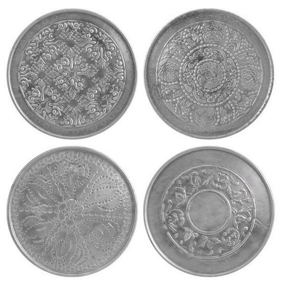 Okrasni Krožnik Sam - aluminij, kovina (28cm)