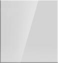 Nischenverkleidung Rgl1006 Weiß - Weiß, MODERN, Glas (60/65cm)