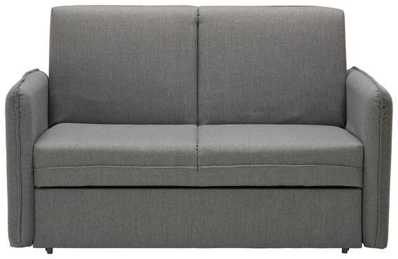 Zofa Piano - siva/krom, Moderno, kovina/tekstil (156/94/99cm) - Modern Living