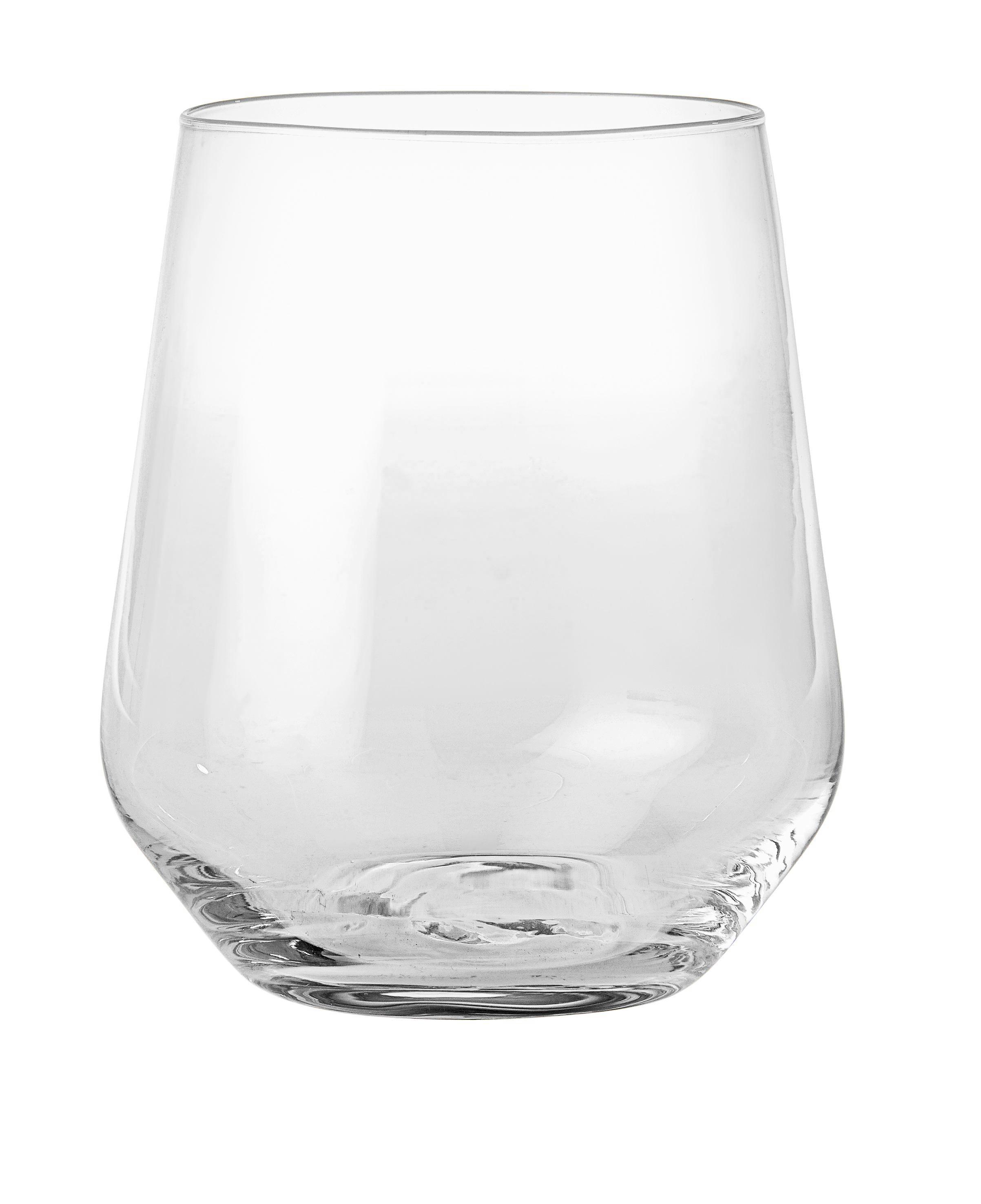 Trinkglas Siena aus Glas, ca. 400ml - Klar, MODERN, Glas (0,4l) - MÖMAX modern living