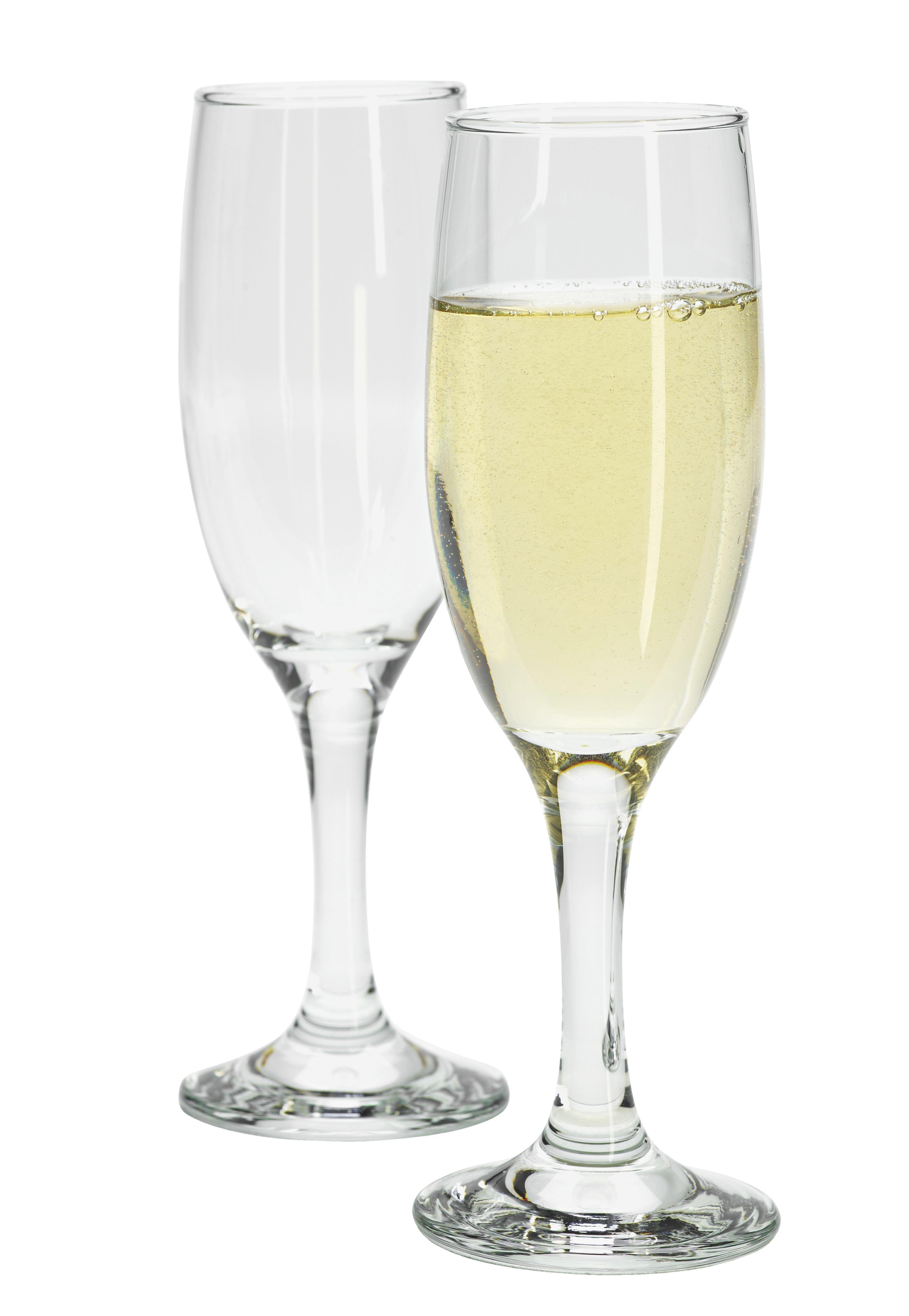 Pezsgős Pohár Billie - tiszta, üveg (5/19,3cm) - MÖMAX modern living