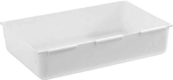 Besteckeinsatz Wanda Weiß - Weiß, Kunststoff (14,9/22,4cm)
