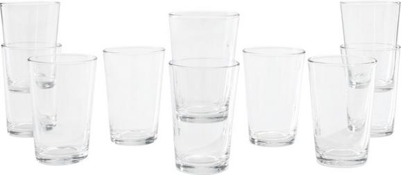 Trinkglas Klara ca. 190ml, 10-teilig - Klar, Basics, Glas (7 10 cm) - Mömax modern living