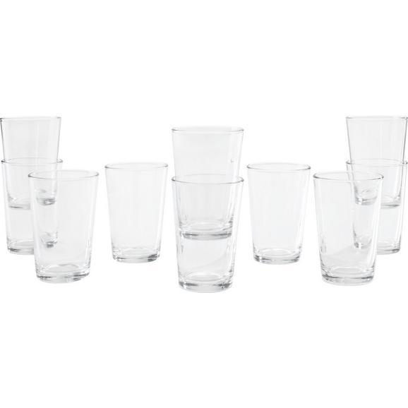 Trinkglas Klara ca. 190ml, 10-teilig - Klar, Basics, Glas (7/10cm) - Mömax modern living