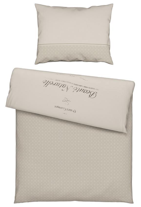 Ágyneműhuzat- Garnitúra Beaute - bézs, romantikus/Landhaus, textil (140/200cm) - MÖMAX modern living